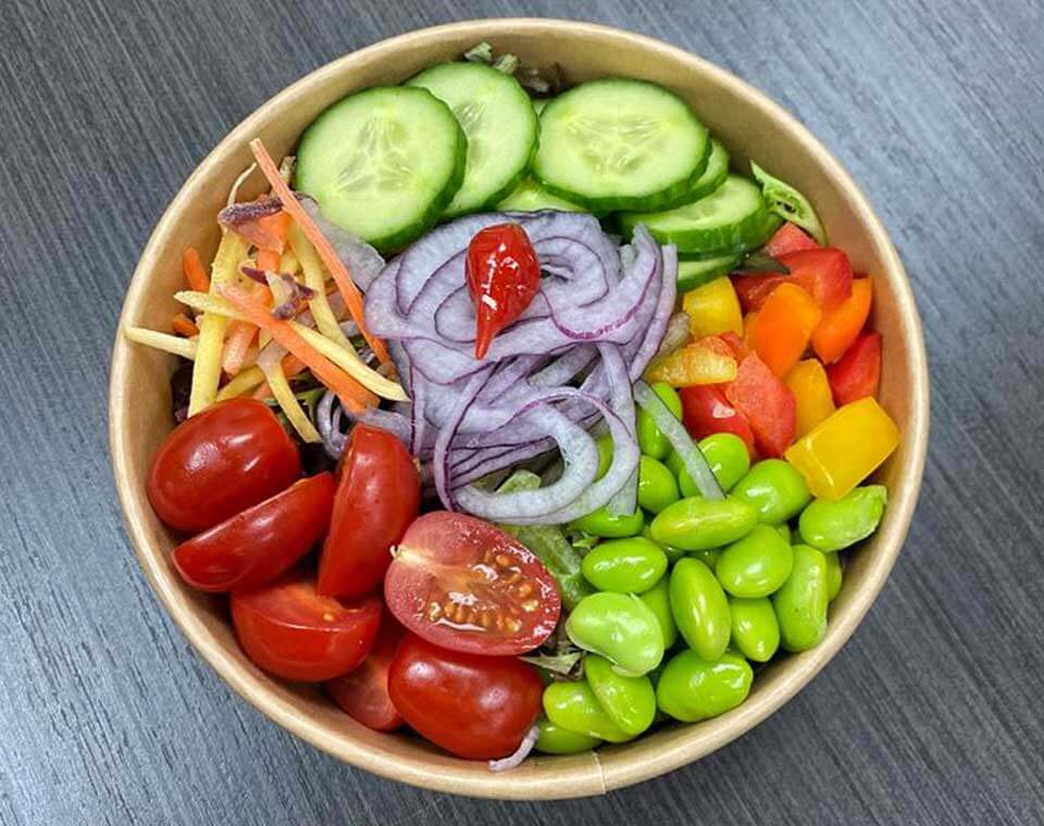 Salade rafraichissante chez Horace